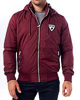 Куртка ветровка, бордо