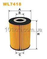 Фильтр масляный WIX WL7418 (OE 669/1)
