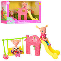 Набор кукол с аксессуарами «Детская площадка» DEFA 8329 Defa