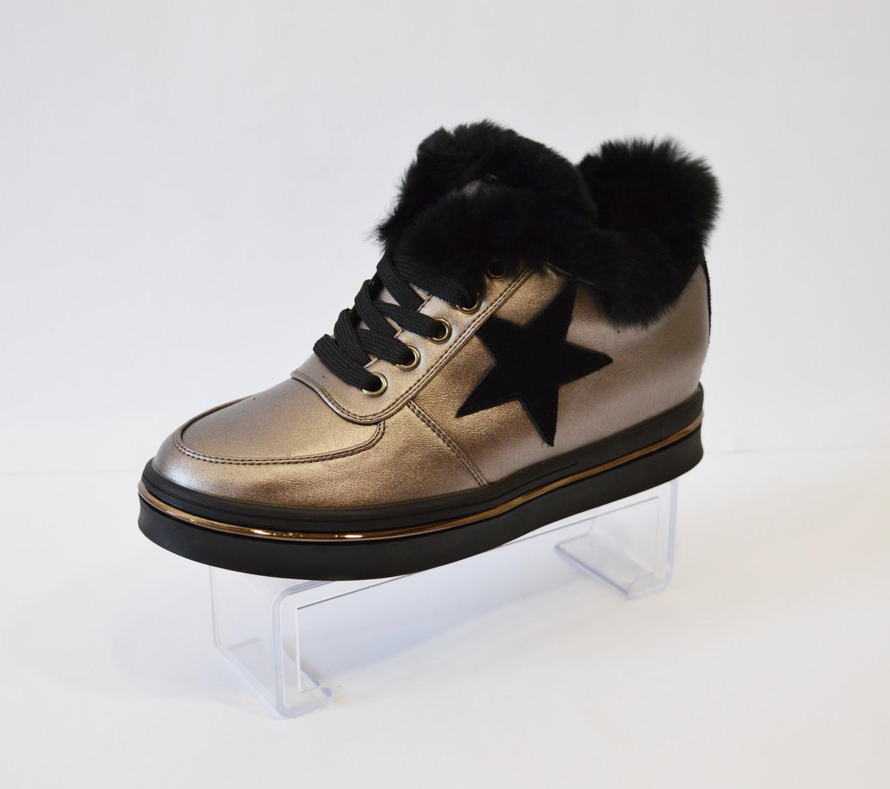 Ботинки женские Sopra платина 76