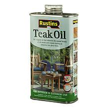 Тиковое масло Teak Oil Rustins Тестер 50 мл