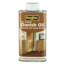 Датське масло Danish Oil Rustins 5 літрів