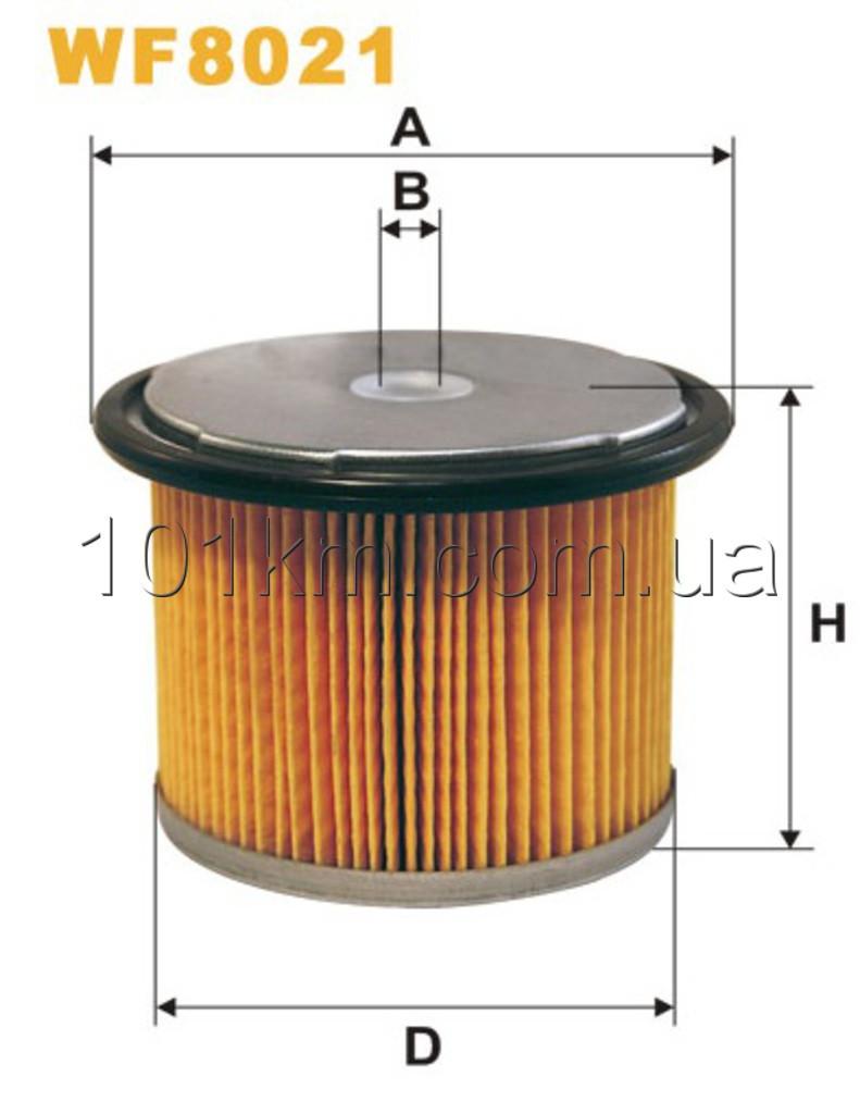 Фильтр топливный WIX WF8021 (PM 858)