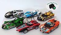 Набор детских автомобилей 12 шт Fierce Power с механическим заводом