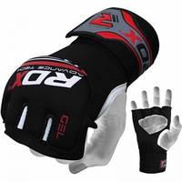 Боксерская перчатка-бинт RDX NEOPREN GEL RED S/M