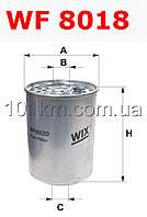Фильтр топливный WIX WF8018 (PM 819)