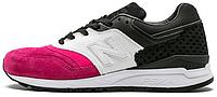"""Женские кроссовки The Phantaci x New Balance 997.5 """"Pink/White/Black"""" (Нью Баланс) розовые/белые/черные"""
