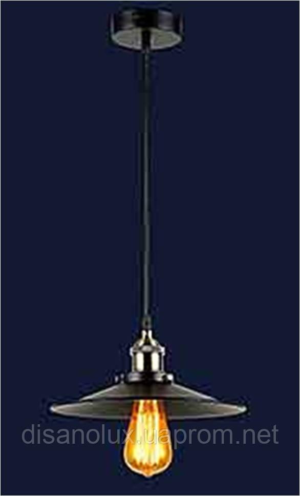 Cветильник подвесной 75071033-1 BK (250) Е27 250*200мм