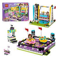 Конструктор Bela Friends 10560 «Парк развлечений: Аттракцион «Автодром»», 429 дет(Аналог LEGO Friends 41133)