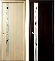 """Дверь межкомнатная """"Злата + Р1"""" (Экошпон  с рисунком), фото 1"""