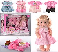 Кукла Baby Toby 30800, 5 платьев Беби Тоби говорит 9 фраз