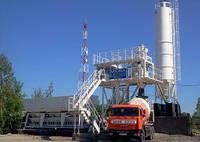 Стационарный бетонный завод MEKA 60W MB-60W