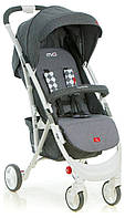 Прогулочные коляски Quatro  модель коляска прогулочная quatro mio №14 grey (графит-серый)