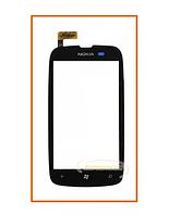 Сенсор (тачскрин) Nokia Lumia 610 Black Original