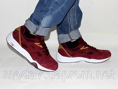 Мужские кроссовки Puma Trinomic бордо
