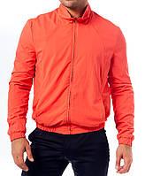 Ветровка спортивная, оранжевая
