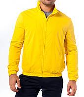Ветровка спортивная, желтый