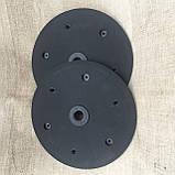 """Напівдиск прикотуючого колеса (диск поліамід) 1""""x12"""" F06120257, фото 3"""