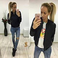 Куртка весна - осень Плащевка на синтепоне 100 + подкладка 2 расцветки супер качество осев №759