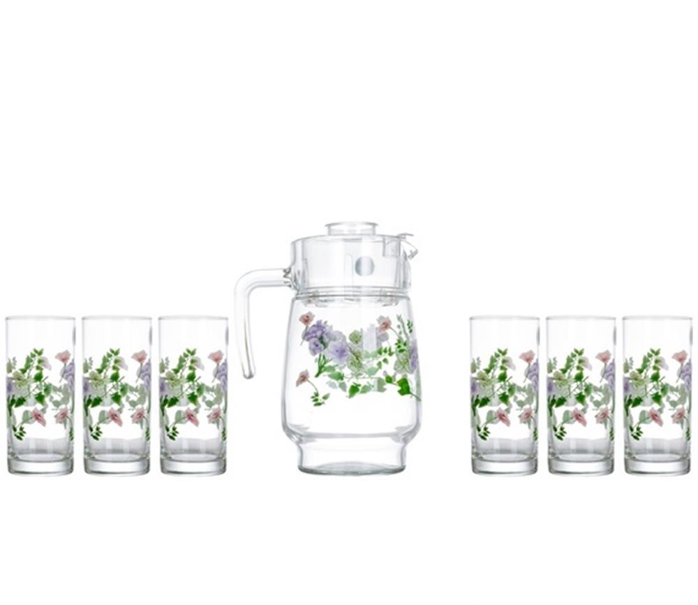 Набор питьевой АMSTERDAM MABELLE 7 предметов Luminarc N3679