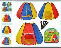 Детская игровая палатка Пирамида, 144х244х104 см