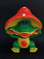 Садовая фигура Лягушка в шляпе