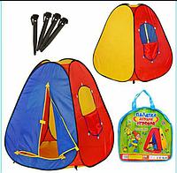 Детская игровая палатка, 83х83х108см