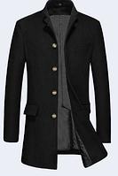 Мужское зимнее пальто. Стильное пальто. Модель 61388
