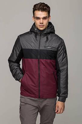 "Мужская куртка Riccardo ""S-3"" RCS-3 бордо"