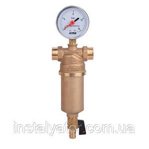 """Самопромывной фильтр для воды 3/4"""" (1"""") ICMA арт.750"""