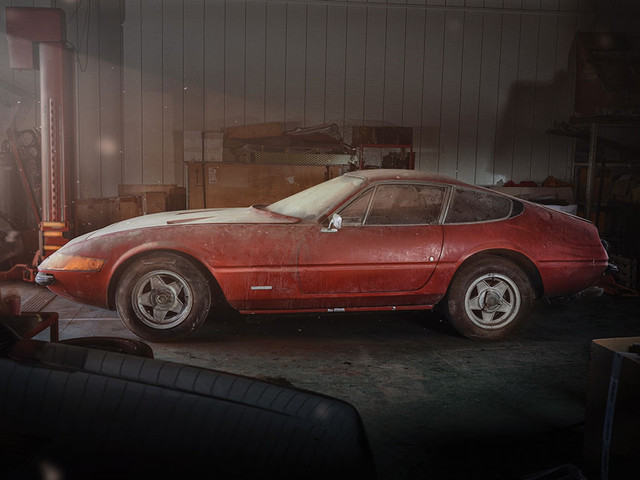 Очередная амбарная находка - Ferrari Daytona