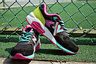 """Женские кроссовки New Balance 580 """"Black/Pink/Green"""" (в стиле Нью Баланс 580) черные, фото 4"""