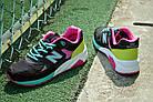 """Женские кроссовки New Balance 580 """"Black/Pink/Green"""" (в стиле Нью Баланс 580) черные, фото 6"""