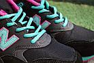 """Женские кроссовки New Balance 580 """"Black/Pink/Green"""" (в стиле Нью Баланс 580) черные, фото 7"""