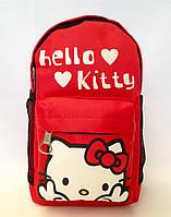 """Рюкзак дошкольный для девочки """" Hello Kitty"""" красного цвета"""
