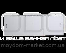 """Екран під ванну ODA 160х50см білий """"Універсал"""" / ЭС 160-50 УБ"""