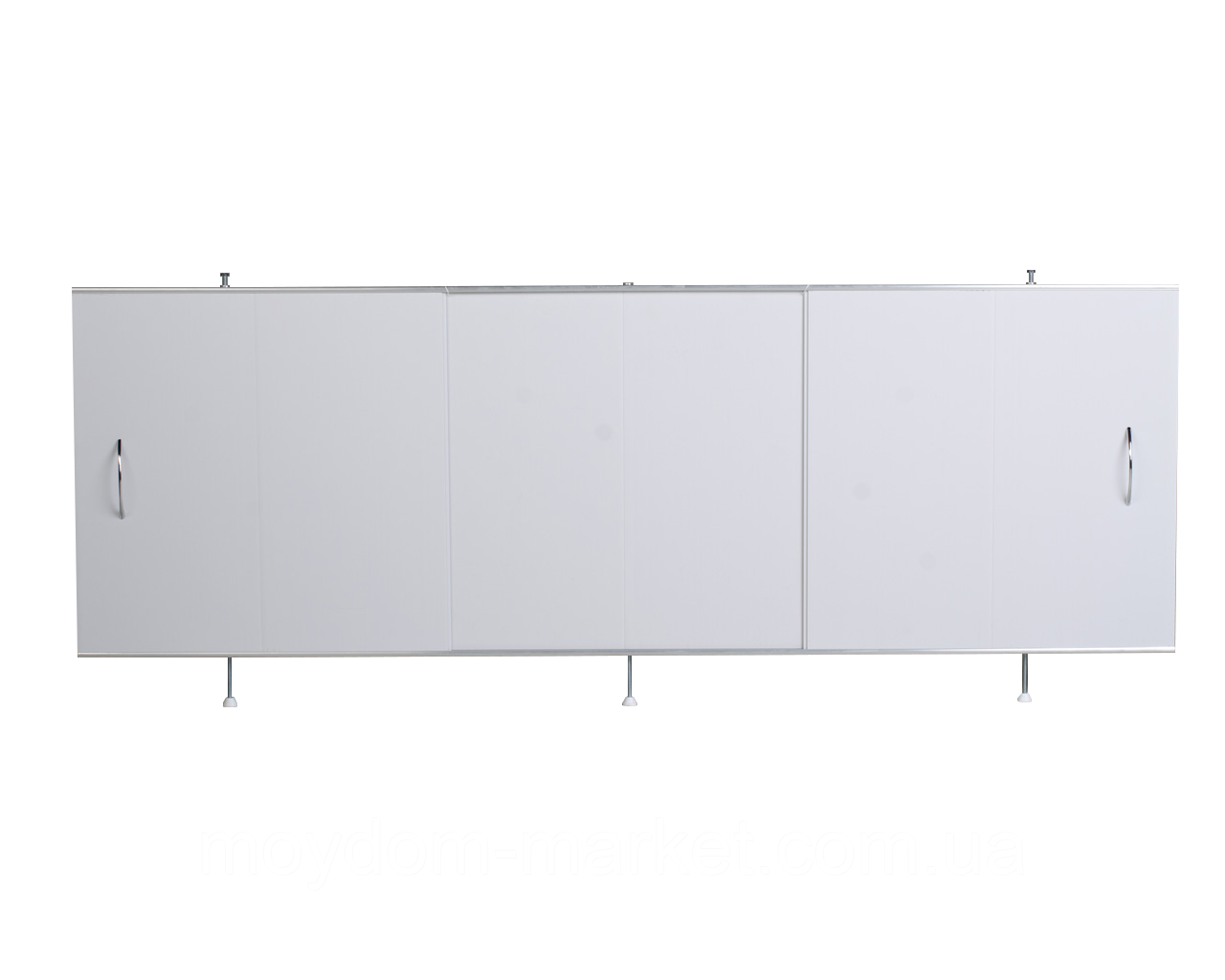 """Екран під ванну ODA 150х56см білий широкий """"Універсал"""" / 22111"""