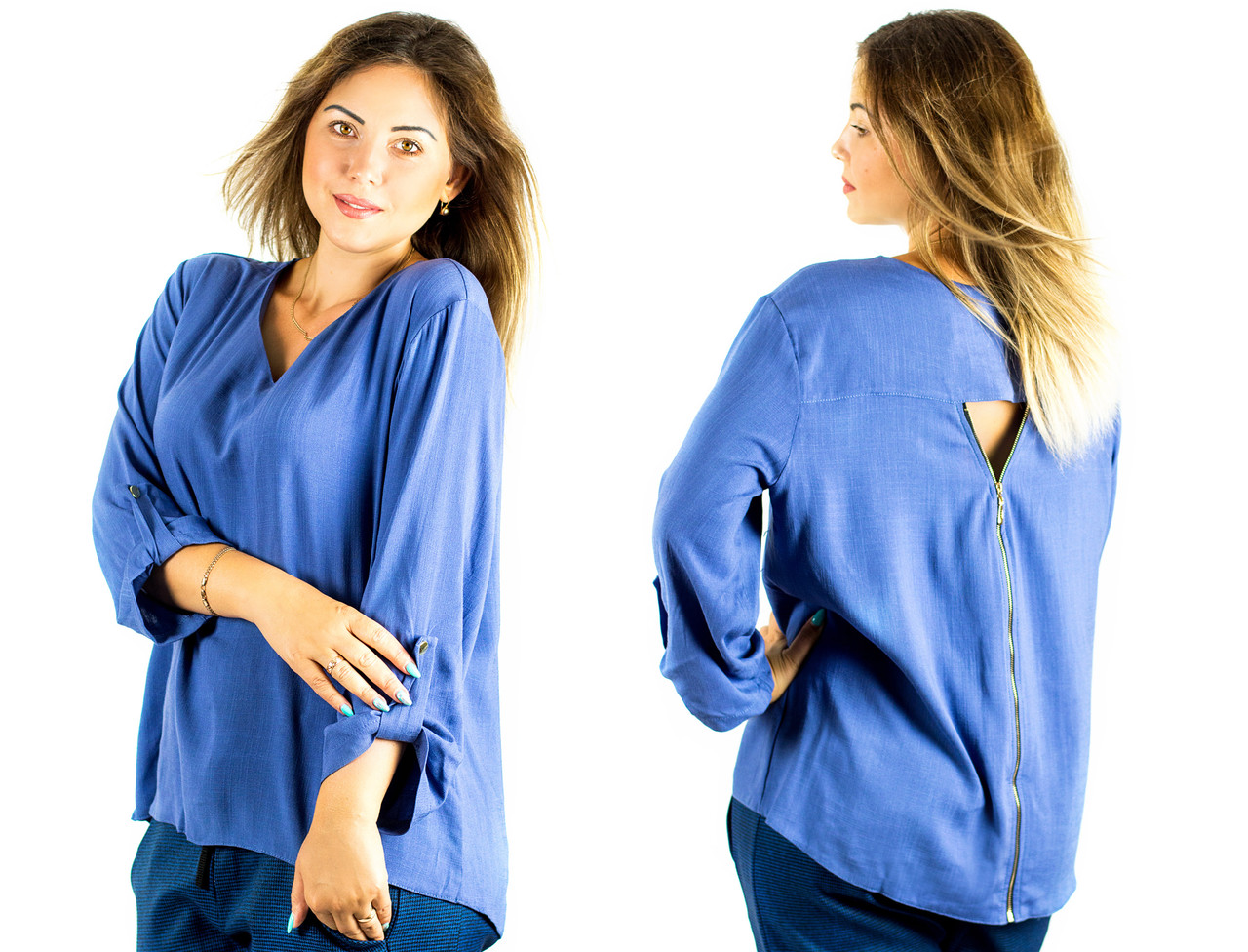 Джинсовая блуза кайман