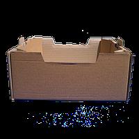 Лоток Персиковый бурый 395*300*146 мм из гофрокартона 8 кг