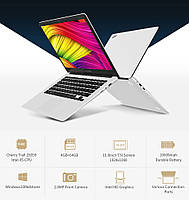 Ноутбук CHUWI LapBook (экран 15,6 дюймов, памяти 4/64Gb,1920x1080 ,Windows 10,  емкость акб 10000 mAh)