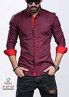 Стильная рубашка с длинным рукавом-трансформером (Турция)