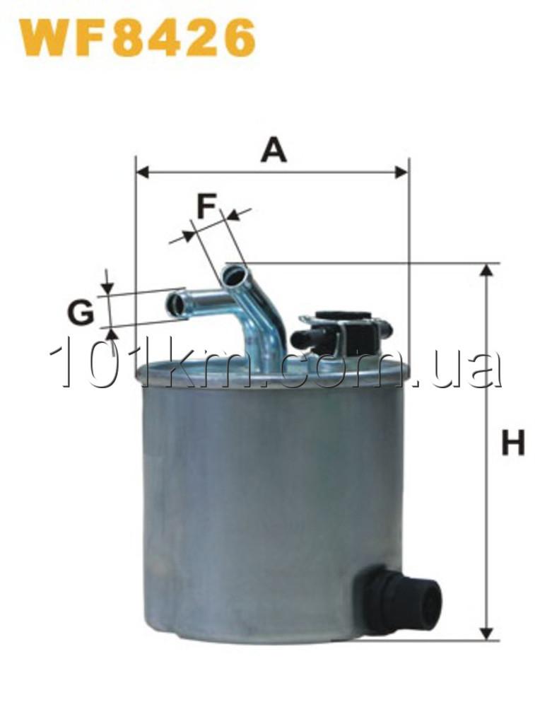 Фильтр топливный WIX WF8426 (PP857/6)