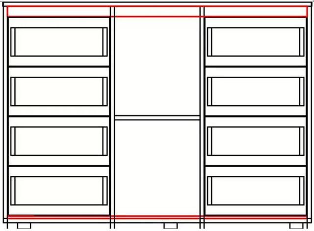 Комод с 8-мю выдвижными ящиками. Роликовые направляющие.  Раздвижные двери (ДСП, зеркало, сатин ― на выбор), профиль 1 серебро. Материал основной: ДСП ламинированная кромкованная 16 мм, 6 цветов ДСП на выбор. Ножки-чашки пластиковые, регулируемые. Ручки врезные.