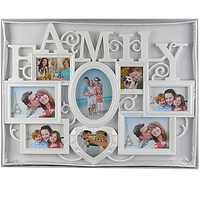 Мультирамка для семьи на 8 фото