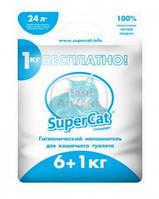 Super Cat - древесный наполнитель Стандарт для кошачьего туалета 24 л