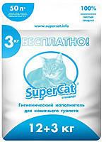 Super Cat - древесный наполнитель Стандарт для кошачьего туалета 51 л