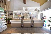 Мебель из акрилового камня для аптек