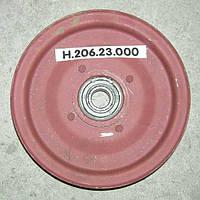 Шкив натяжной привода грохота с подшипником Н.206.23.000 СК-5,НИВА
