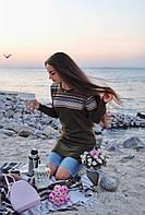 Женская модная туника  ДГд3812