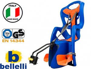 Велокрісло Bellelli Pepe Італія на раму Синє